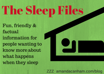 The Sleep Files logo